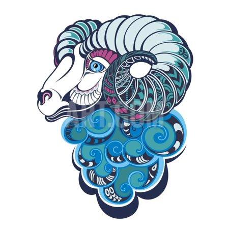 Happy New Year Art - Sheep. Happy New Year 2015 Print Wall Art By worksart