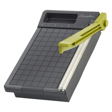 "Swingline Paper Trimmer, Guillotine Paper Cutter, 6"" Cut Length, 5 Sheets Capacity, Compact, ClassicCut (1060T)"