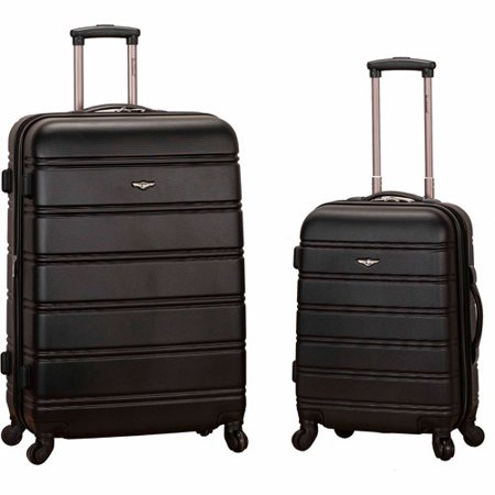 Rockland Luggage Melbourne 2-pc. Expandable ABS Spinner Luggage Set $54.18 w/in-store pu @ Walmart online deal