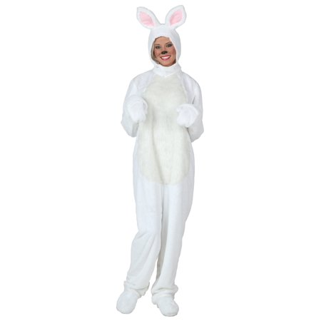 Plus Size White Bunny Costume - Vintage Playboy Bunny Halloween Costume