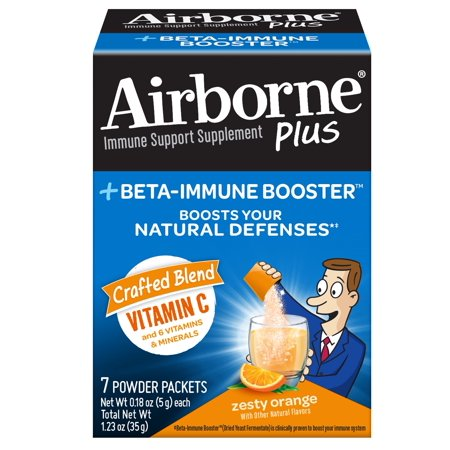 Airborne Pdr Beta Immune Bstr Orange 7Ct