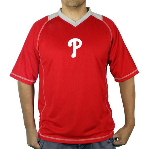 MLB Philadelphia Phillies Big Men's vneck poly jersey