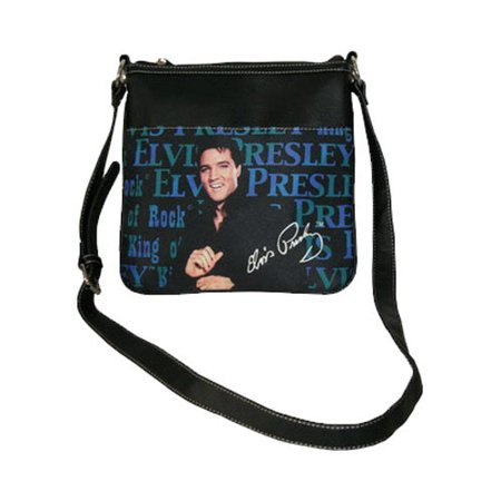 Women's Elvis Presley Signature Product EB91 Black (Elvis Presley Tin Tote)