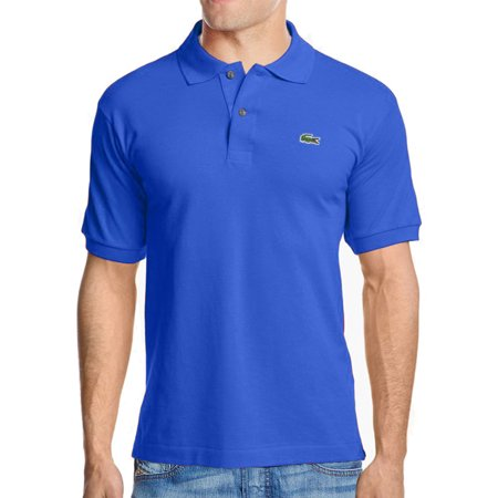 57e2c133767c5 Lacoste - Men s 2 Button Croc Pique Mesh Polo Shirt - Walmart.com