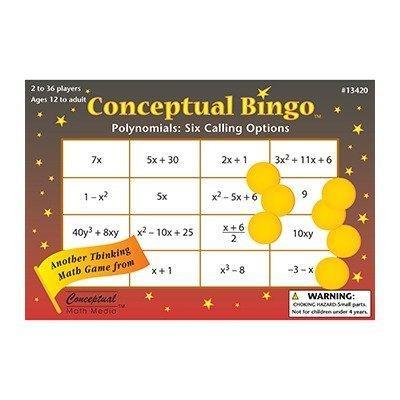 conceptual bingo: polynomials