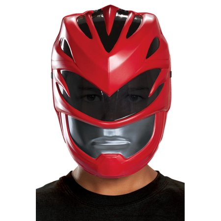 RED RANGER 2017 VAC MASK CHILD-DG19654