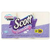 Scott Extra Soft Toilet Paper, 12 Mega Rolls