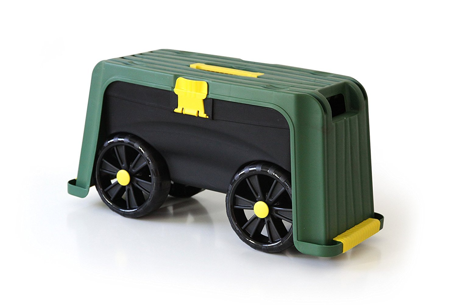 garden scooter seat. Miracle-Gro 4-in-1 Garden Stool - Multi-Use Scooter Seat