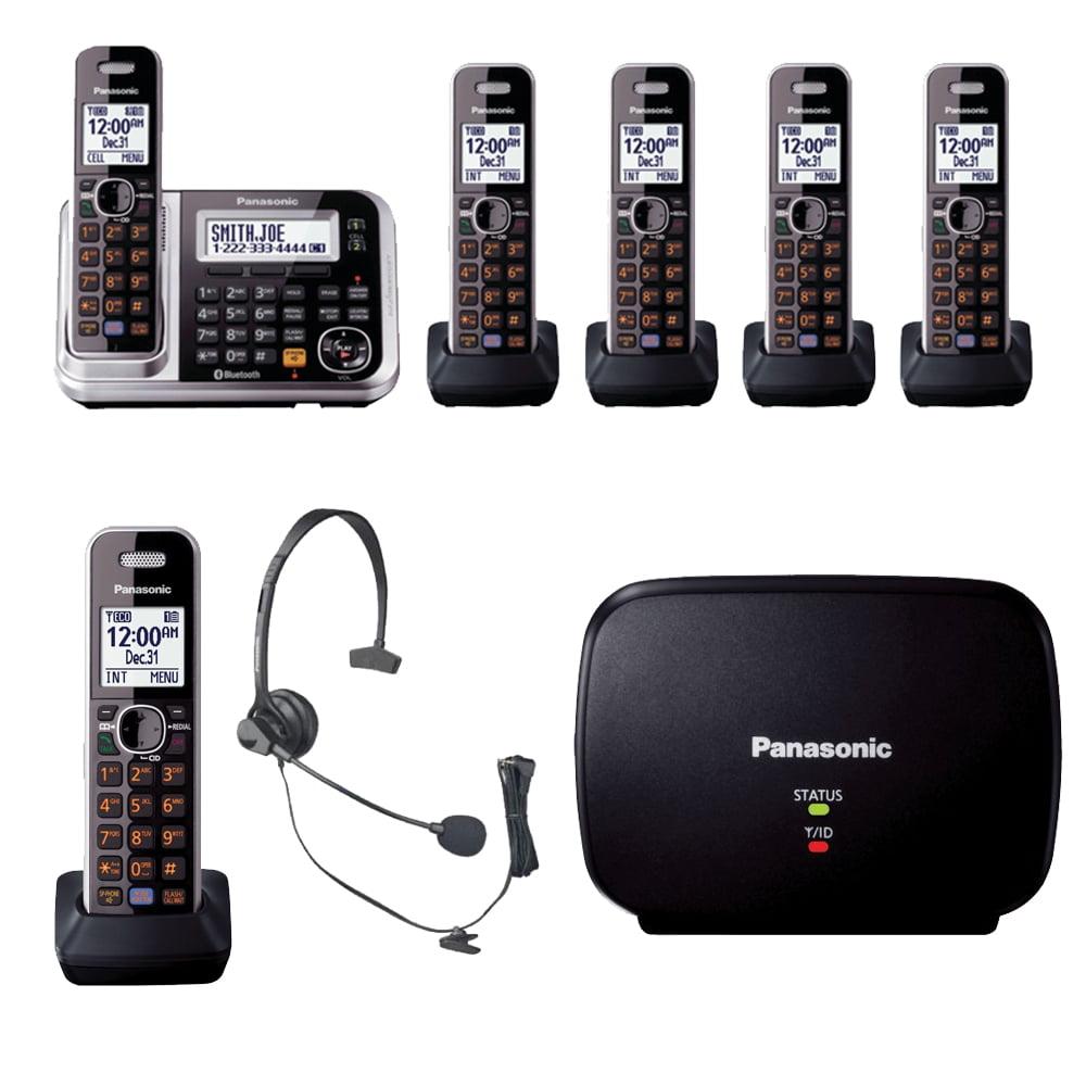 Panasonic KX-TG7875S Phone, KX-TG680S Telephone, Headset ...