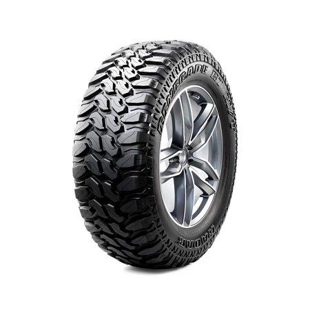 Radar Renegade R7 Aggressive Mud Terrain Tire - 35X12.50R18 LRE/10 (Best Aggressive All Terrain Truck Tires)