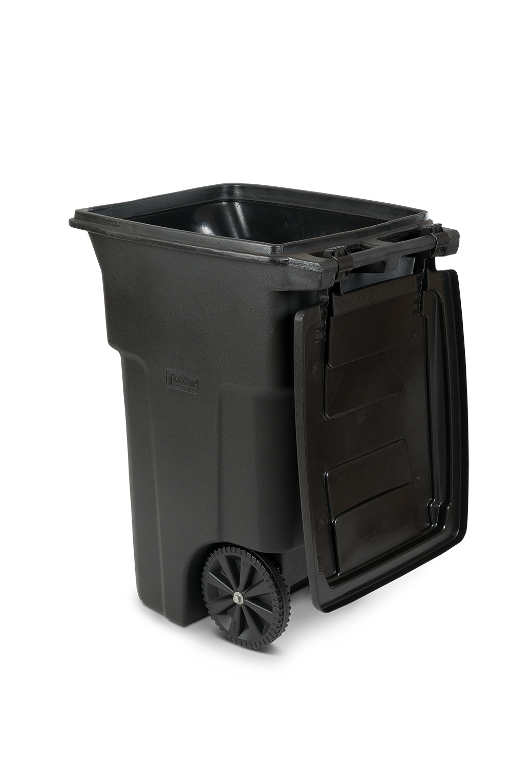 f5f64cdd1aedc1 Toter 64 Gal. Trash Can Greenstone with Wheels and Lid - Walmart.com