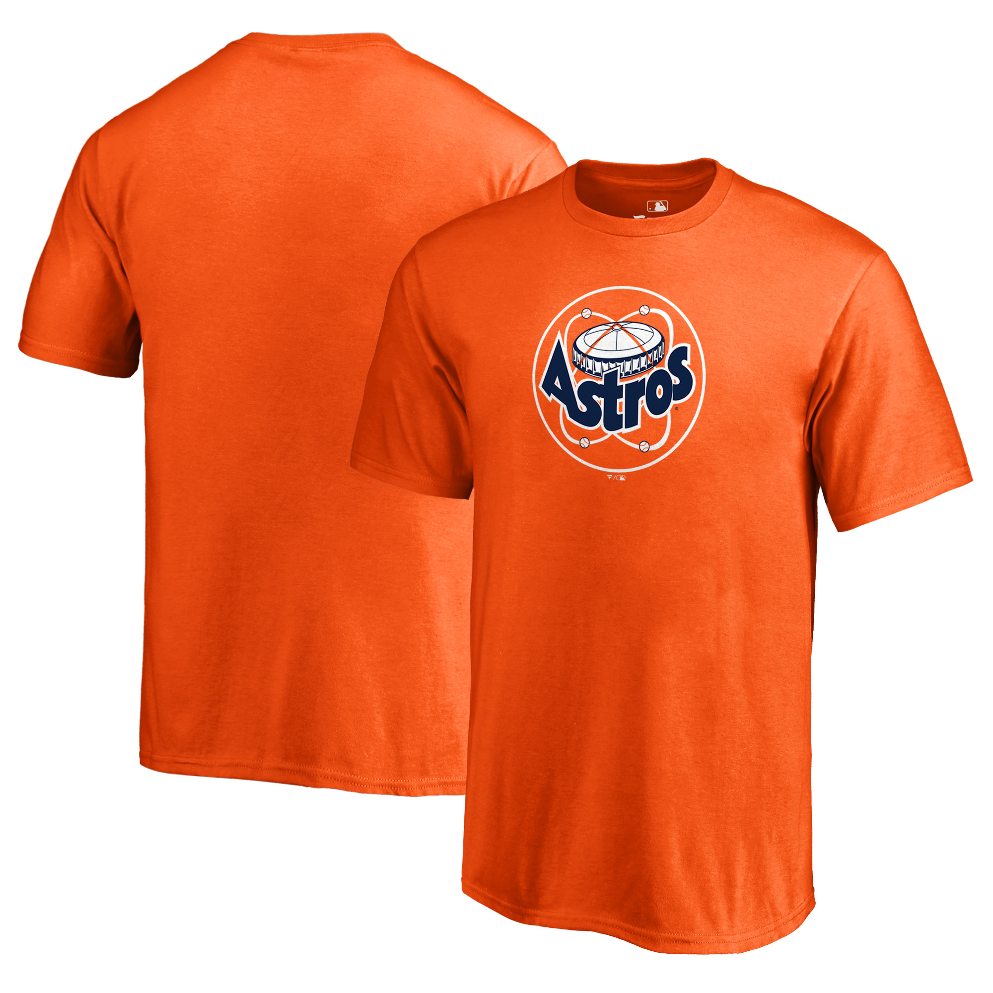 Houston Astros Fanatics Branded Youth Cooperstown Collection Huntington T-Shirt - Orange