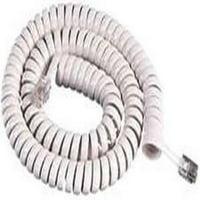 ICC GCHA444012-FWH / 12' WHITE Handset Cord