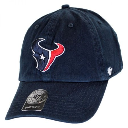 Houston Texans '47 Brand Clean Up Adjustable Hat - 47 Brand Blank Hats