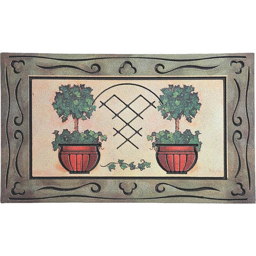 Homebasix Plant Doormat by Homebasix