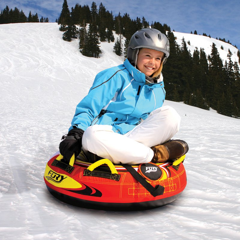 Sportsstuff Fury Hard Body Inflatable Snow Tube by Kwik Tek