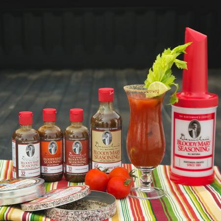 Demitris Bloody Mary Seasoning Mix Tailgate Party Kit   8 Piece Set