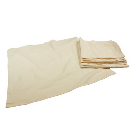 OsoCozy Unbleached Flat Diapers (6 pk)