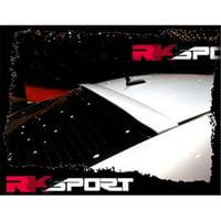 RKSport Chevy 37012025 Roof Spoiler - Carbon Fiber - Chevy Malibu 2008-2012