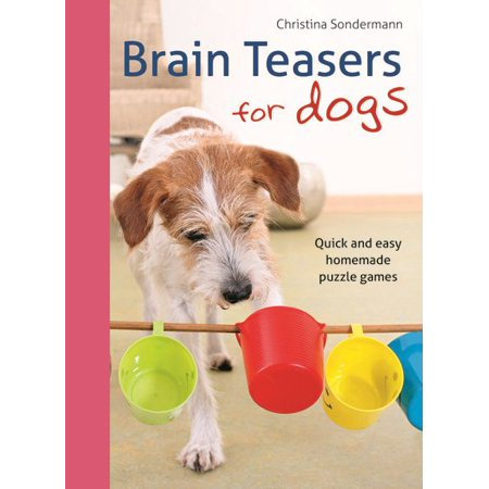 Brain Teasers for Dogs : Quick and Easy Homemade Puzzle Games (Easy Homemade Halloween Crafts)