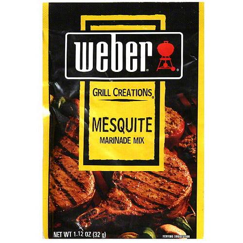 Weber Mesquite Marinade Mix, 1.12 oz (Pack of 12)