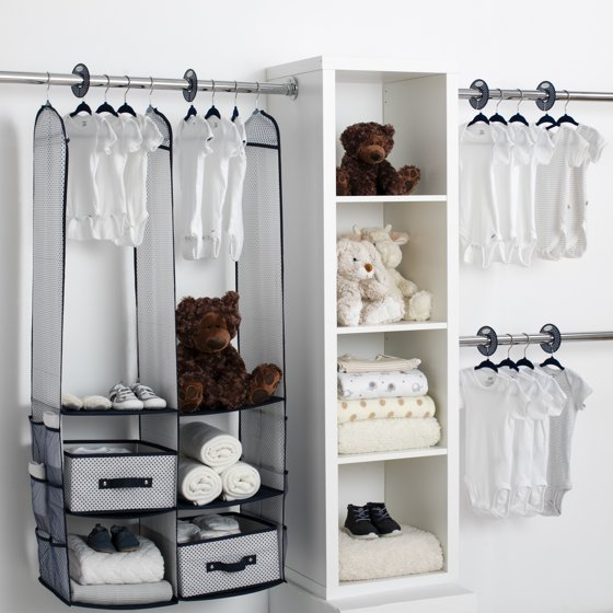Special Section 24pcs Children Nursery Closet Organizer Set Baby Clothes Hanging Wardrobe Storage Baby Clothing Kids Toys Organizer Fashionable Style; In