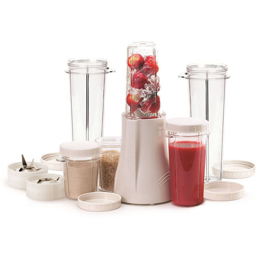 Tribest Original Complete Blender and Grinder Set with XL Cups, White