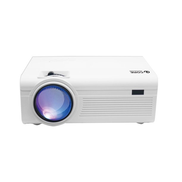 """Core Innovations CJR600 150"""" LCD Home Theater Projector Only $42.48"""