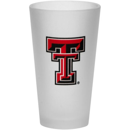 Texas Tech Red Raiders Frosted Pint Glass - No Size