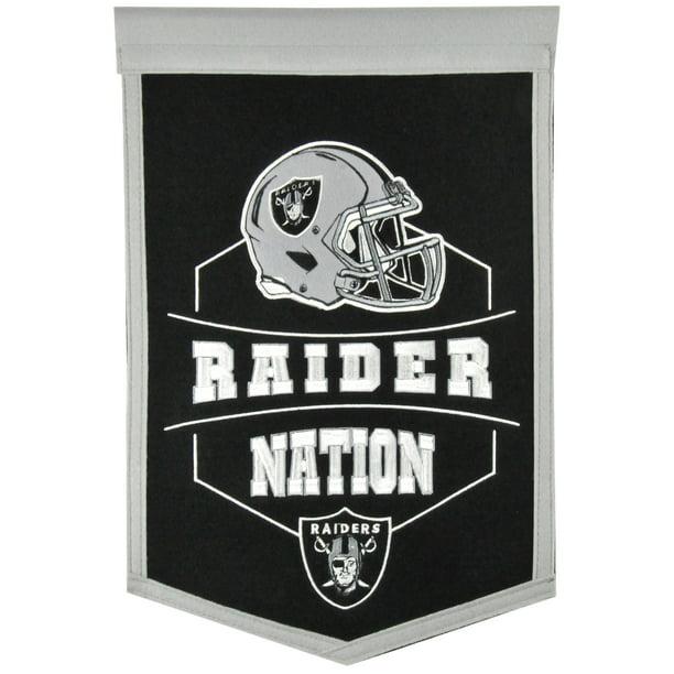 Las Vegas Raiders 12 X 18 Revolution Traditions Banner Walmart Com Walmart Com