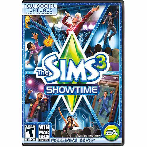 Sims 3 Showtime Expansion Pack (PC/Mac) (Digital Code)