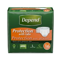 Depend Adult Incontinence Brief Heavy Absorbency
