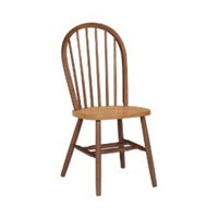 International Concepts Dining Essentials Wooden Windsor Chair Cinnamon Espresso by LatestLuxury