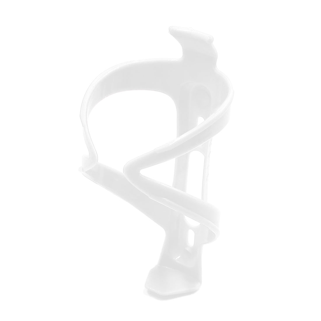 Plastic Bike Bicycle Cycling Outdoor Drink Water Bottle Cup Holder Bracket White