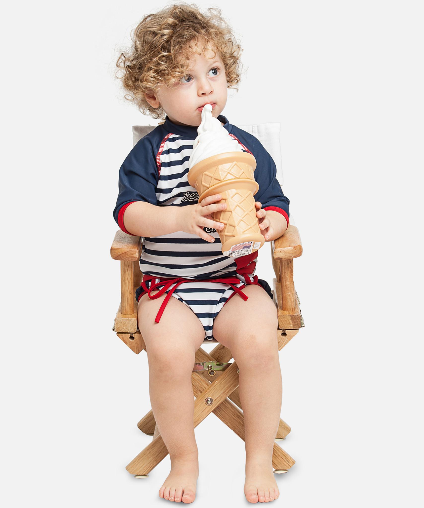 Boys Set - Deauville UV Rash Vest + Swim Diaper