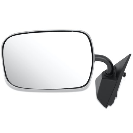For 1988 to 2000 Chevy GMC C1500 C2500 K3500 Pickup Suburban Blazer Yukon OE Style Manual Driver / Left Side View Door Mirror 15697331 89 90 91 92 93 94 -