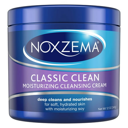 (2 pack) Noxzema Moisturizing Cleansing Facial Cleanser, 12 (Best Facial For Melasma)