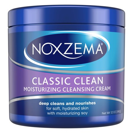 (2 pack) Noxzema Moisturizing Cleansing Facial Cleanser, 12