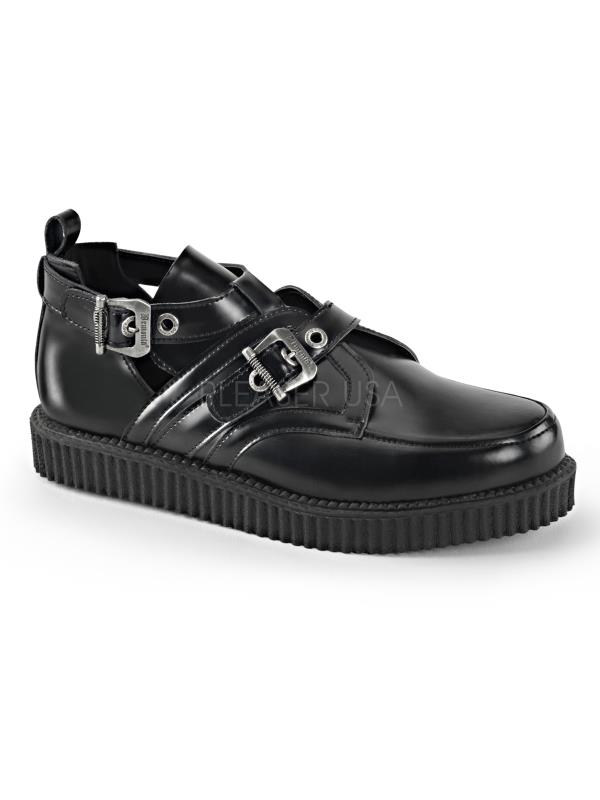 Demonia Creepers Creepers Demonia Unisex CRE615/BLE Size: 4 251ca5