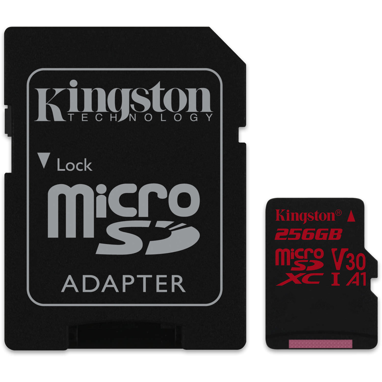 Kingston 256GB Canvas React microSDXC Card
