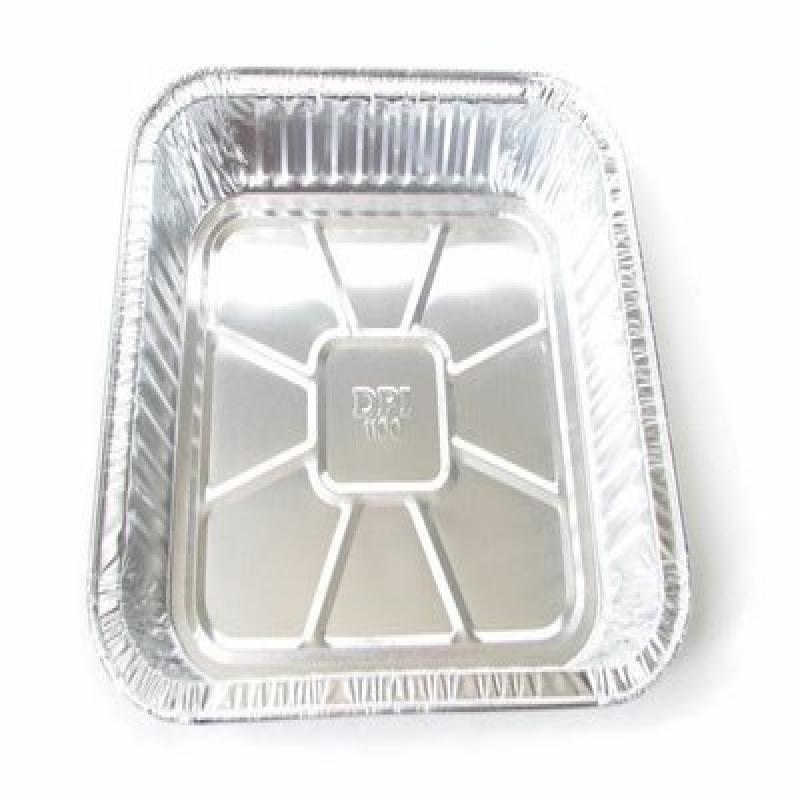"Durable Office Disposable Aluminum 9 X 9 X 1 3/4 "" Square..."