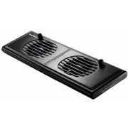 Cooler Master Notepal P2 - Notebook stand - with 2 cooling fans - 60 mm - black