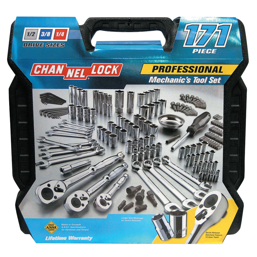 171 Pc. Mechanic's Tool Sets