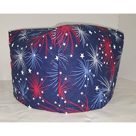 Toaster Cover Patterns - Toaster Cover (Several Themes Available) (2 Slice, 4th of July Fireworks Americana)