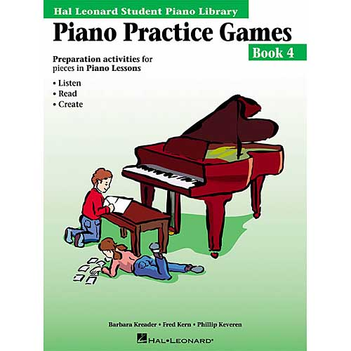 Piano Practice Games: Preparation Activities For Pieces in Piano Lessons Book 4