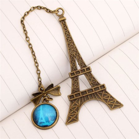 Eiffel Tower Metal Bookmarks For Book Creative Item Kids Gift Stationery HP