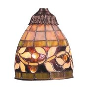 Tiffany Glass Shade Only - One Light Glass Only  Tiffany Finish-Bailey Street Home-31-BEL-1111228