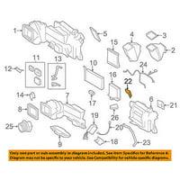 Dodge CHRYSLER OEM Sprinter 2500 Air Conditioner-Thermister Probe 5103937AB