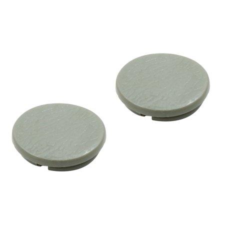 20pcs Gray Plastic Universal Car Decoration Screws Bolts Nuts Cap Covers 10mm - image 2 de 3