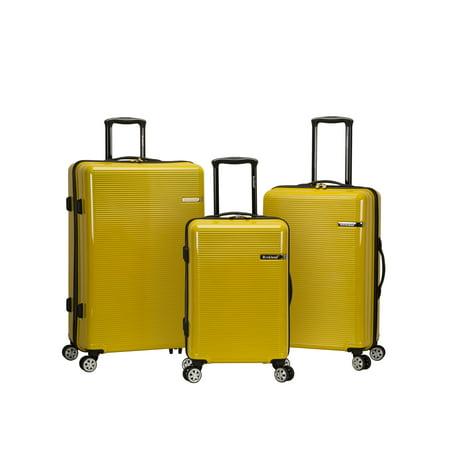 Rockland Luggage Horizon 3 Piece Hardside Polycarbonate Luggage Set